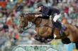 The author of the winning entry Swedish Jumping rider Peder Fredricson competing at the Athens 2004 Olympic Games